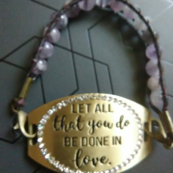 Jewelry - Amethyst bracelet